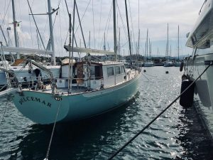 14 meter wooden sailing boat for sale