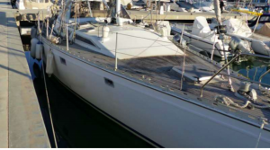 classic blue water boat for sale