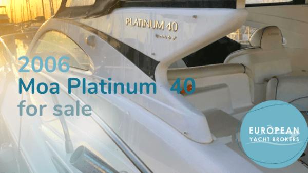 Moa Platinum 40 for sale 2006