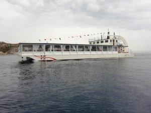 Event boat for sale, floating restaurant for sale